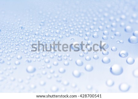 Water drops texture - stock photo