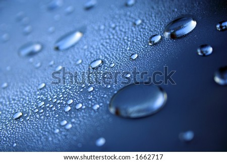 water effect - stock photo