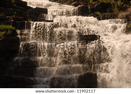 Water fall, Florence Falls - stock photo