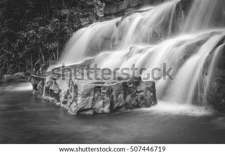 water fall stone,