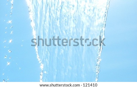 Water Falling - stock photo