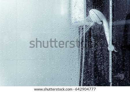 Water Heater Shower Spray Bathroom Stock Photo Royalty Free 642904777