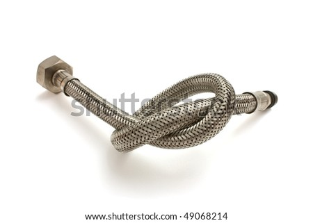 Water hose isolated