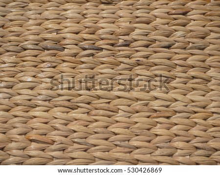 Water hyacinth weave pattern background