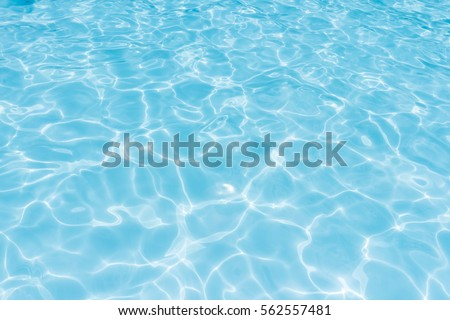 water in swimming pool rippled water detail background