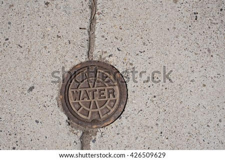 Water Manhole Cover