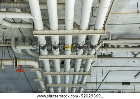 Water pipe stock images royalty free images vectors shutterstock - How to run plumbing collection ...