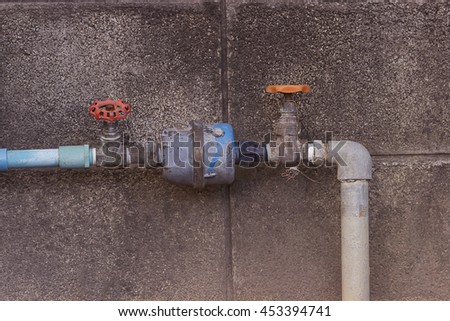 Stock images royalty free images vectors shutterstock for Water pipe outside house