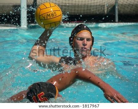 Water Polo series - stock photo
