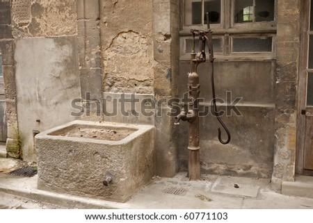 Water pump - stock photo