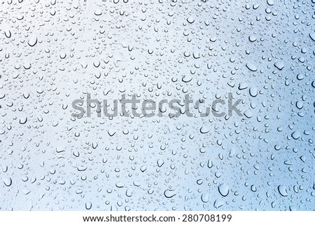 water raindrop background macro - stock photo