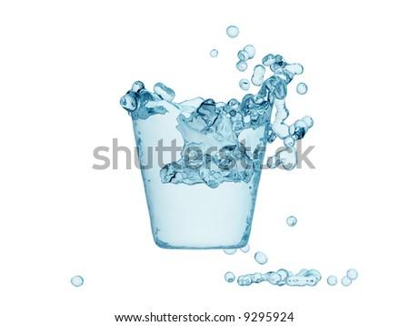 water refreshing - stock photo
