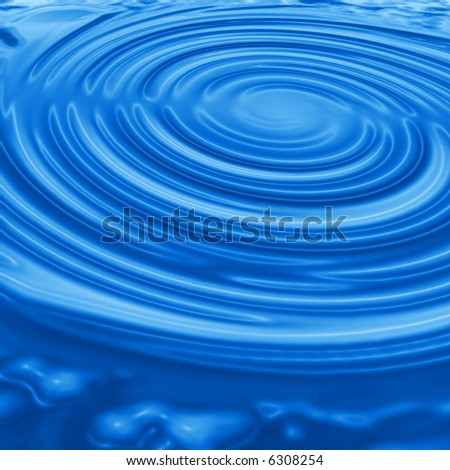 Water ripples abstract illustration