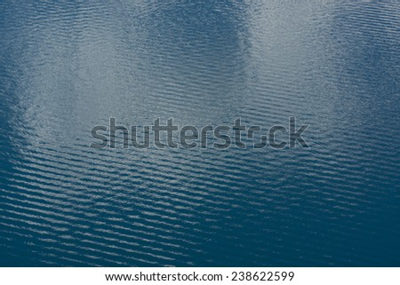 Water ripples background. Lake in New Zealand - stock photo