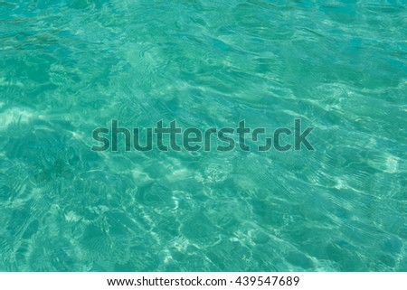 water ripples texture with dark and light area - stock photo