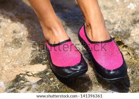 Water Shoes Stock Photos, Royalty-Free Images & Vectors - Shutterstock