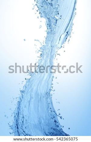 Water splash,water splash isolated on white background,water