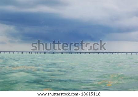 Water Spout - stock photo