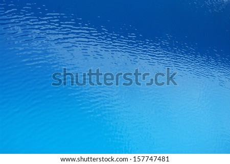 Water surface wave texture Water surface wave texture variant color in blue shade from dark to light - stock photo