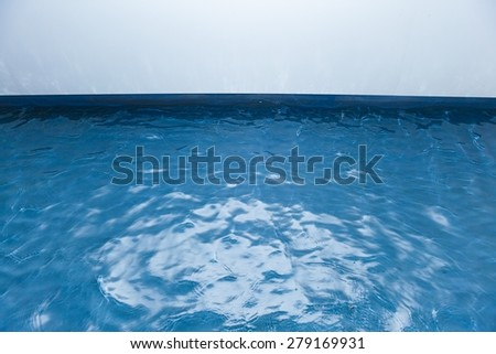 water surface with copy-space - stock photo