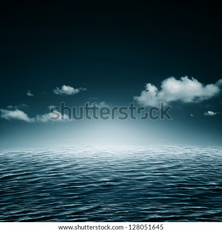 Water symphony. Abstract natural backgrounds - stock photo