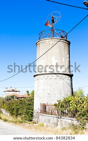 water tank, Mogadouro, Portugal