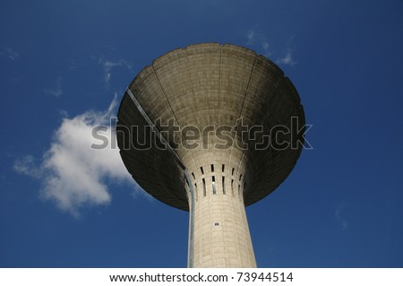 water tower of Les Mureaux in France