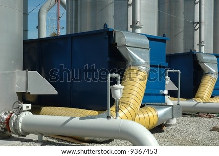 water treatment plant filtration