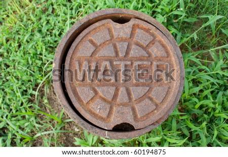 water valve - stock photo