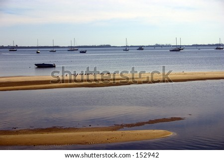 water view - stock photo