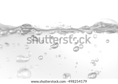 water,water splash isolated on white background,beautiful splashes a clean water,Close up of splash of water forming