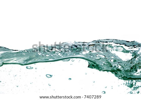 water wave #14 - stock photo