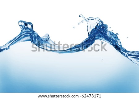 Water waves - stock photo