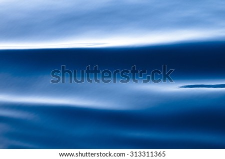 Water waves for nature backgrounds-Open water surface of the sea - stock photo