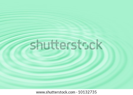 water waves green