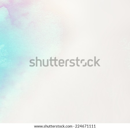 watercolor, abstract background - stock photo