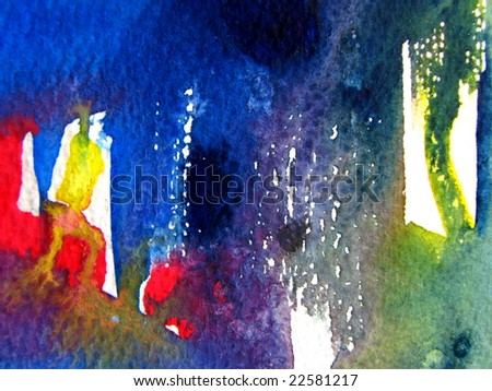 Watercolor abstract background 1