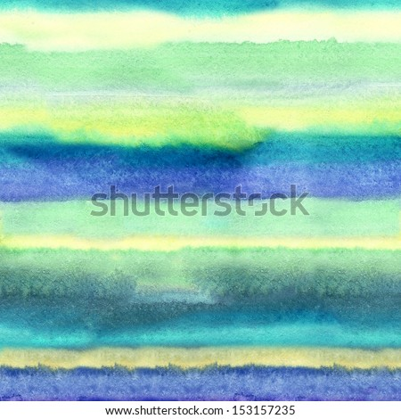 Watercolor Abstract Stripes - stock photo