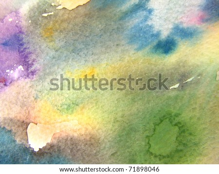 Watercolor Background 2 - stock photo