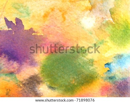 Watercolor Background 4 - stock photo