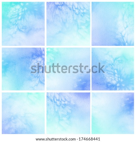 Watercolor Background Abstract Painting