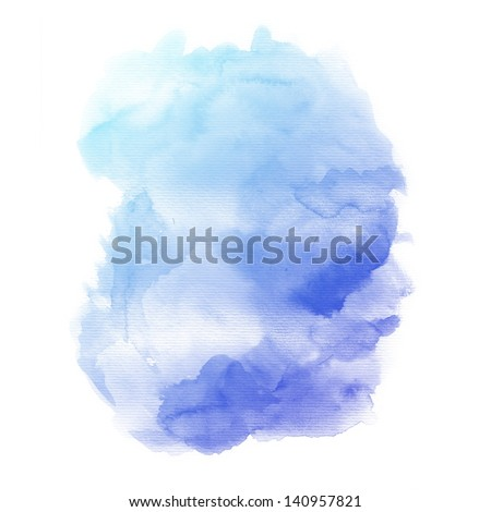 Watercolor background. colorful Abstract water color art hand paint