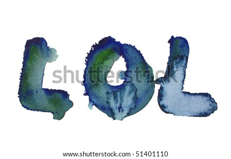 watercolor background design letters