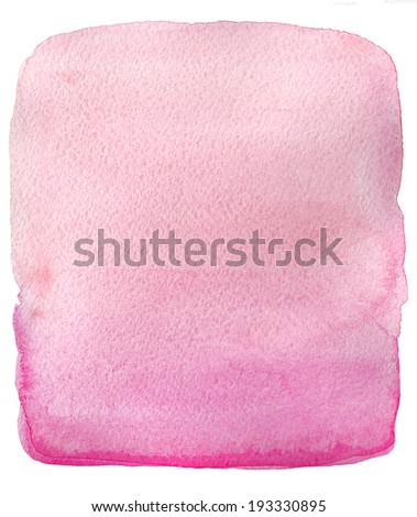 Watercolor background. Magenta to pink gradient. - stock photo