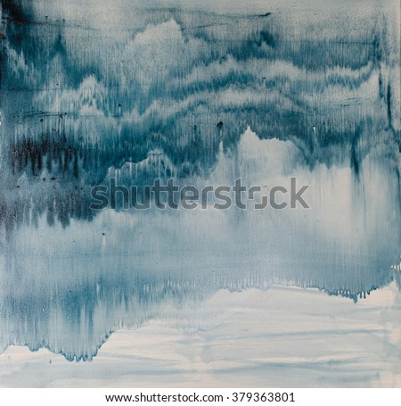 watercolor drips. Abstract painting. Oil on canvas. Background texture - stock photo