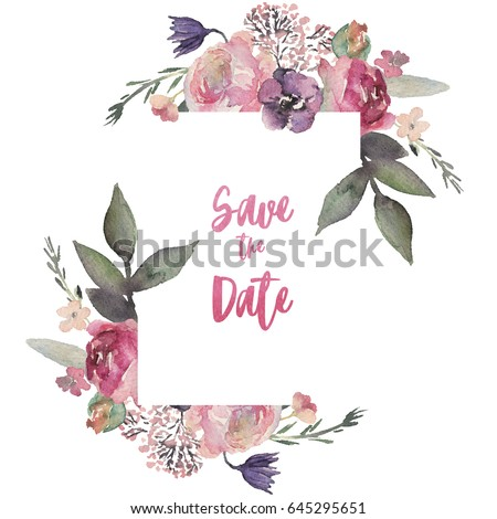 Square Floral Frame Stock Images, Royalty-Free Images ...