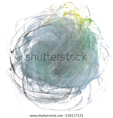 watercolor gray textured backdrop, abstract watercolor hand paint texture, isolated on white background, spot with droplets smudges stains splashes