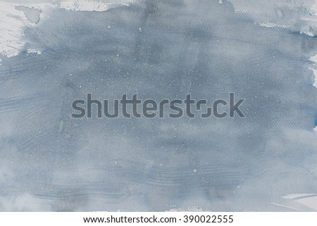 watercolor grey painted background texture - stock photo