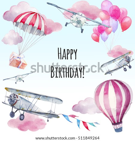 Watercolor happy birthday card hand painted stock illustration watercolor happy birthday card hand painted stock illustration 511849264 shutterstock bookmarktalkfo Gallery