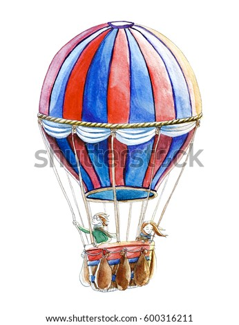 Watercolour Balloon Stock Images Royalty Free Images